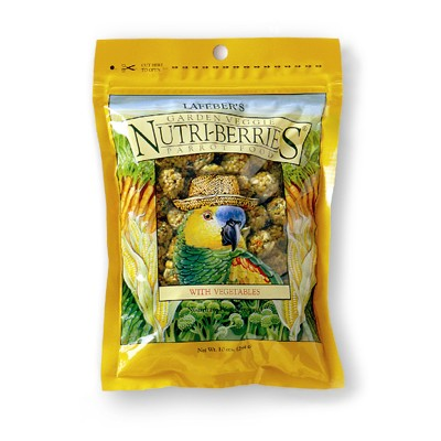Lafeber's Nutri-Berries for Parrots Garden Veggie 10 oz 8636