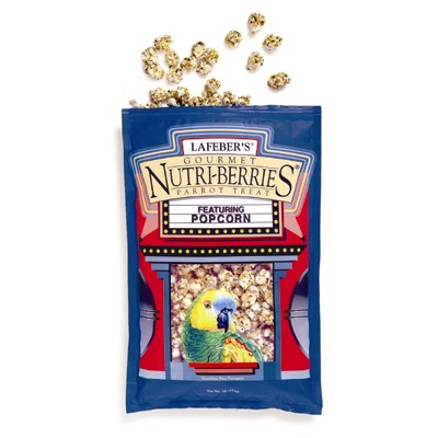 Parrot Treat with Popcorn Nutri Berries 16 oz. 8705
