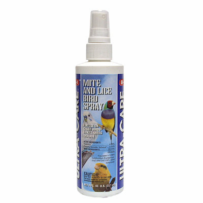 Mite and  Lice Spray for birds 8 oz. 87152