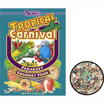 FM Brown's Tropical Carnival Parakeet 2 lb. 87743