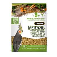 ZuPreem AvianMaintenance Natural Diet 2.5 lb Cockatiels 88683