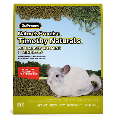 Nature's Promise ™ Chinchilla Food 3 lb. Bag 88698