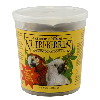 Lafeber's Nutri Berries Macaw & Cockatoo 12 oz. 88794