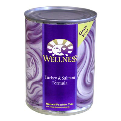 Wellness Turkey and Salmon Canned Cat Food 908819b