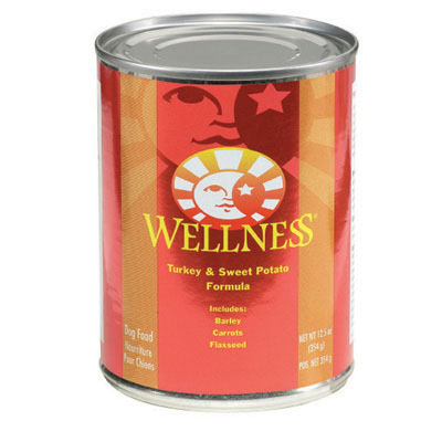 Wellness Turkey and Sweet Potato Canned Food