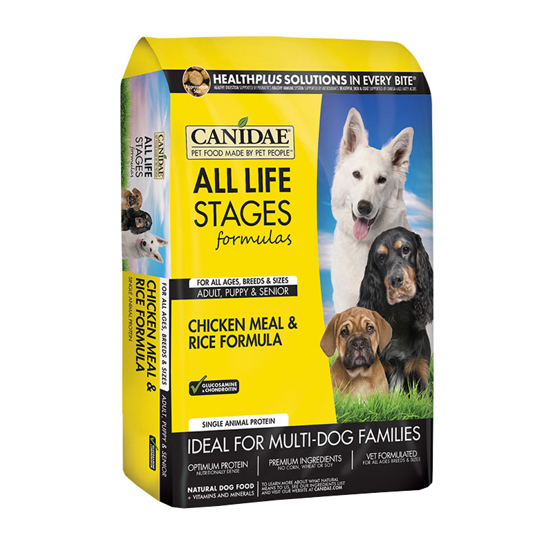 CANIDAE® All Life Stages Chicken and Rice Reformulated Dog Food 9095b