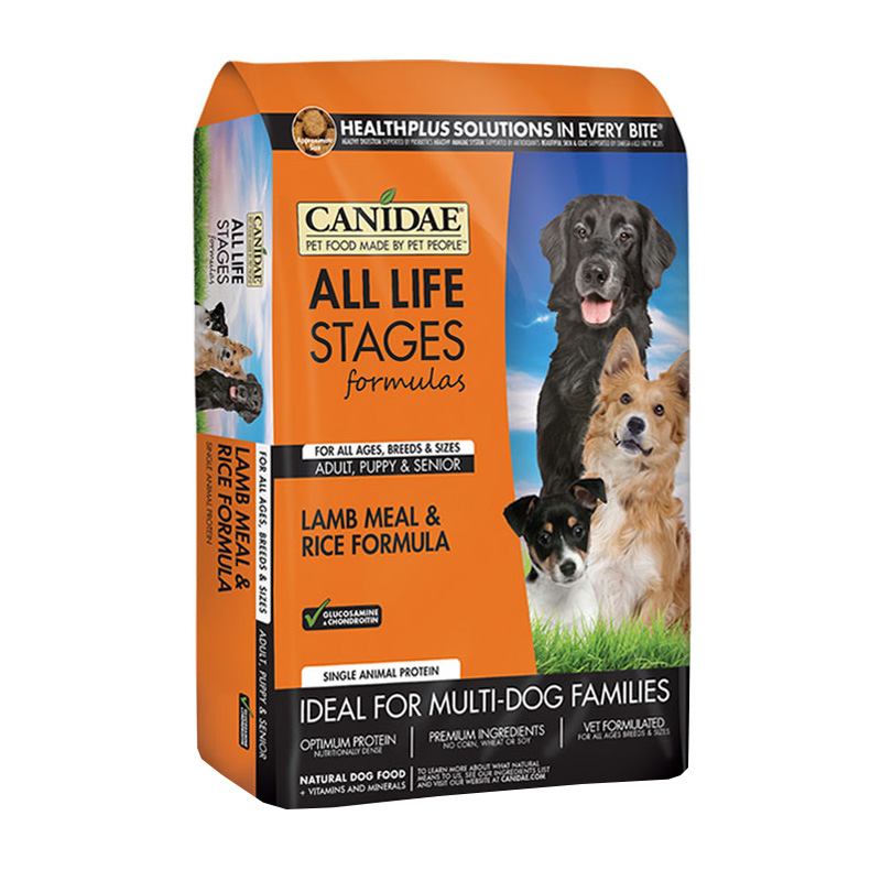 CANIDAE® All Life Stages Lamb and Rice Dog Food 91002b