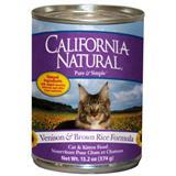 California Natural® Venison & Brown Rice Cat and Kitten Food 13.2 oz. 111289