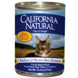 California Natural® Chicken & Brown Rice Cat and Kitten Food 13.2 oz. 111295