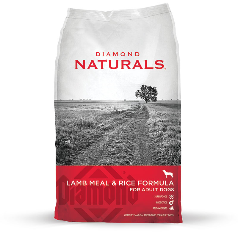 Diamond ® Naturals Lamb Meal & Rice Adult Dog Food 92122B