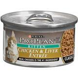 Purina® Pro Plan® Chicken & Liver Entrée Kitten Food 3 oz. 92197