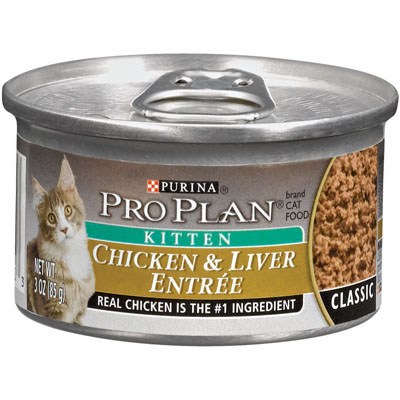 Purina Pro Plan ® Chicken & Liver Entrée Kitten Food 3 oz. 92197