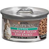 Purina® Pro Plan® Salmon & Ocean Fish Entrée Kitten Food 3 oz. 92198