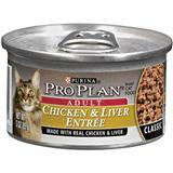 Purina® Pro Plan® Chicken & Liver Entrée Cat Food 3 oz. 92201