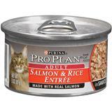 Purina® Pro Plan® Salmon & Rice Entrée Cat Food 3 oz. 92204