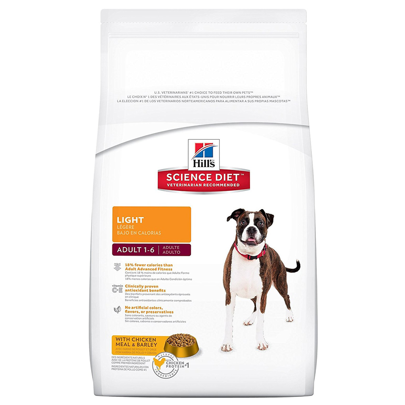 Hill's ® Science Diet ® Light Adult Dog Food 92212E