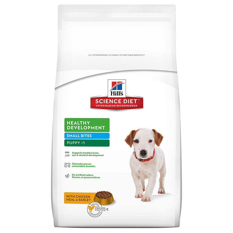 Hills ® Science Diet ® Small Bites Puppy Food 92216e