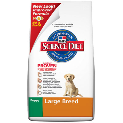 Science Diet ® Large Breed  Puppy Food 92238e
