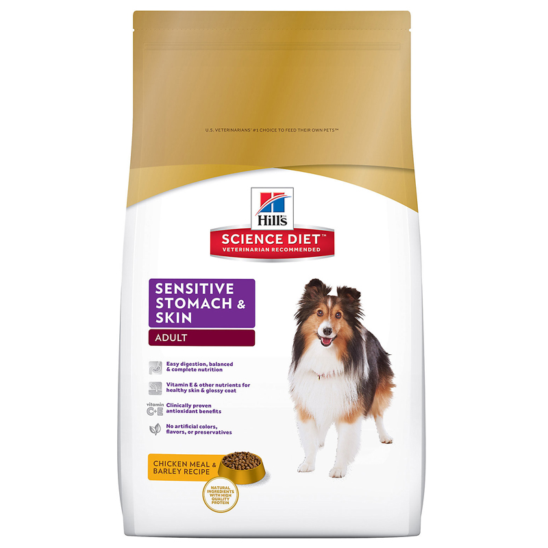 Hills ® Science Diet ® Sensitive Stomach Adult Dog Food 92248e