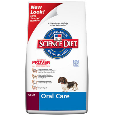 Hills ® Science Diet ® Oral Care Adult Dog Food 92254e