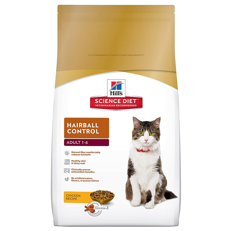 Hill's® Science Diet® Cat Food Hairball Formula 3.5 lbs. 92363