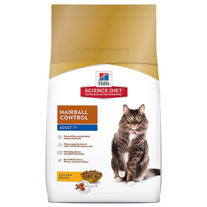 Hills Science Diet ® Hairball Control Senior Cat Food 92369B