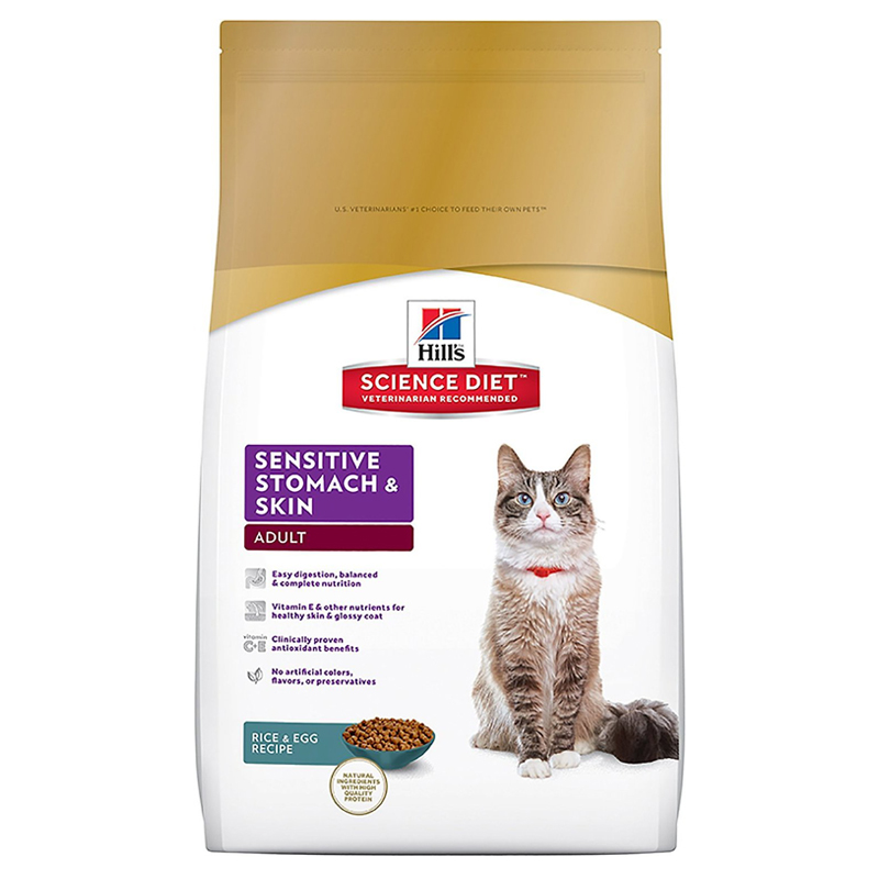 Hill's® Science Diet® Sensitive Stomach Adult Cat Food 92372e