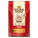 Nutro® Natural Choice® Large Breed Senior Chicken, Whole Brown Rice & Oatmeal Formula 92488B