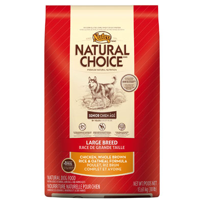 Nutro ® Natural Choice ® Large Breed Senior Dog Food 92488B