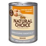Nutro® Natural Choice® Wholesome Essentials™ Senior Chicken & Rice Formula 12.5 oz. Can 92573