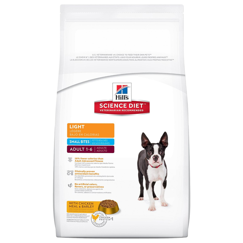 Hills ® Science Diet ® Light Small Bites Adult Dog Food 92801e