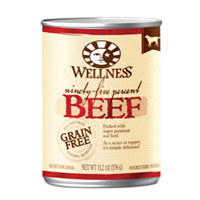 Wellness® 95% Beef Dog Food 13.2 oz. 994006