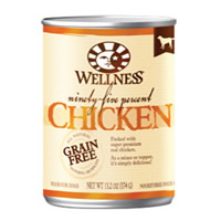 Wellness® 95% Chicken Dog Food 13.2 oz. 994008
