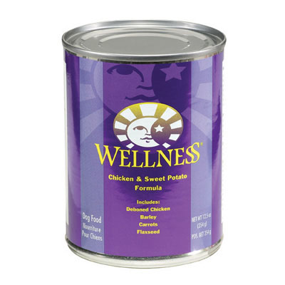 Wellness Chicken and Sweet Potato Canned Food 908824b