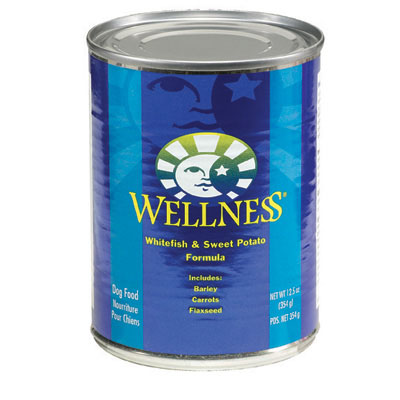 Wellness® Whitefish & Sweet Potato Dog Food 12.5 oz. 94003