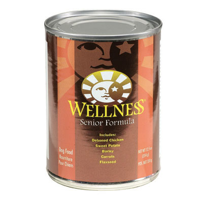 Wellness® Senior Dog Food 12.5 oz. 94005