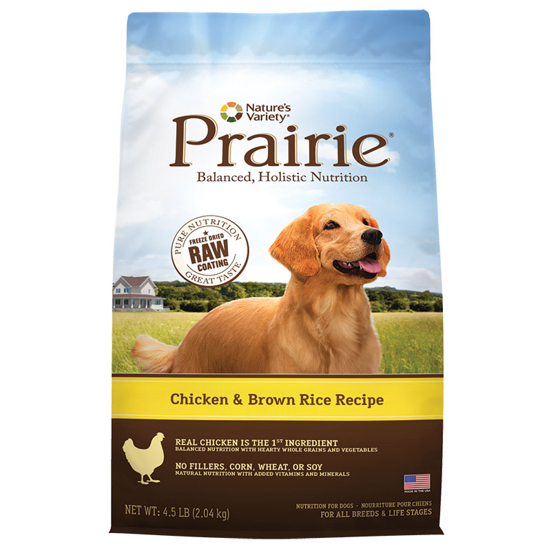 Natures Variety ® Chicken Meal and Rice Prairie Kibble Dog Food 96041B