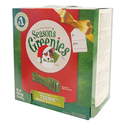 Season's Greenies® Chewy Texture 27 oz. Tub-Pak™ Dog Treats 96140sb