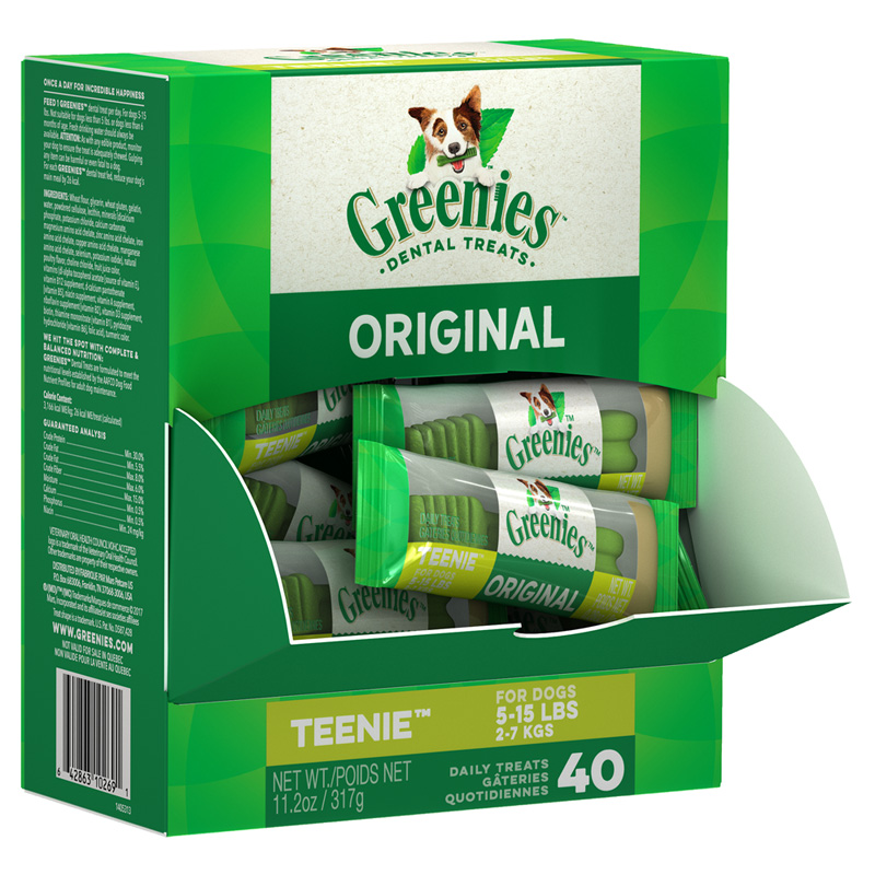 Greenies® Chewy Texture Dog Treats Mini-Me™ Merchandisers 9626b