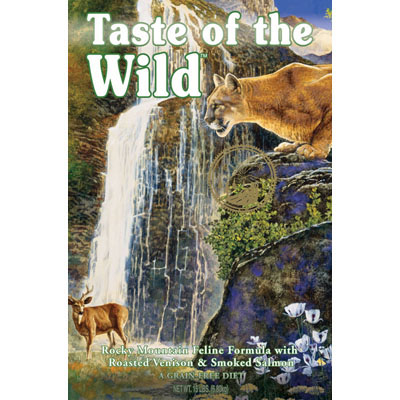 Taste of the Wild ™ Rocky Mountain Cat Food 9689b