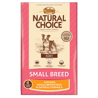 Nutro® Natural Choice® Small Breed Puppy Food 96964