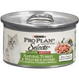 Purina® Pro Plan® Selects® Natural Turkey and Wild Rice Entrée for Adult Cats 3 oz. 98566