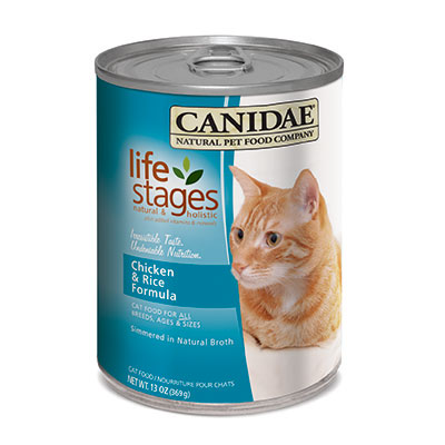 Felidae Chicken & Rice Case of 24 -13.2oz Cans