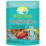Wellness® Healthy Indulgence® Chicken, Crab & Herring Cat Food, 3 oz. 9908946