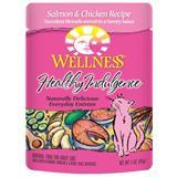 Wellness® Healthy Indulgence® Salmon & Chicken Cat Food, 3 oz. 9908948