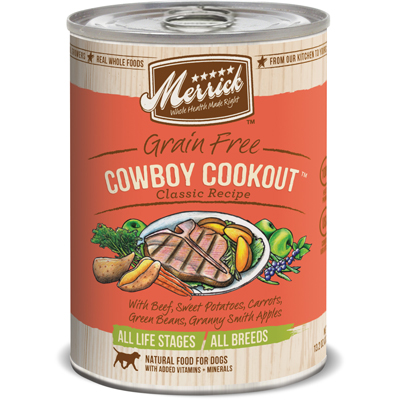 Merrick ® Cowboy Cookout ™ Dog Food 13.2 oz.