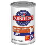Hills ® Science Diet ® Gourmet Turkey Entree Mature Adult 7+ Dog Food 13 oz. 992307