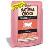 Nutro® Natural Choice® Complete Care® Kitten Food Chicken & Liver Chunks 92713