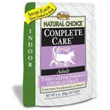 Nutro® Natural Choice®  Complete Care Indoor Turkey & Liver Cat Cat Food 3 oz. 92724