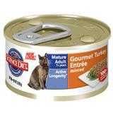 Hill's® Science Diet® Mature Adult Gourmet Turkey Entree Cat Food 3 oz. 92810
